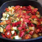 Kartoffel-Paprika-Zucchini-Topf