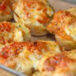 Ofenkartoffeln mit Thunfisch und Käse