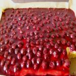 Kirsch Schmand Blechkuchen